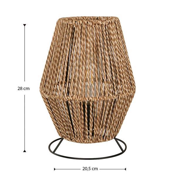 Lámpara de Mesa con soga