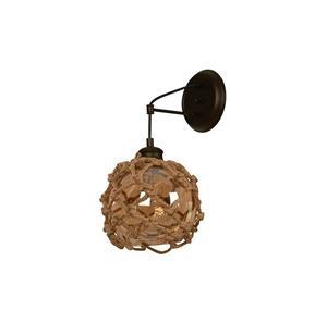 Lámpara Aplique de Pared 1L choco