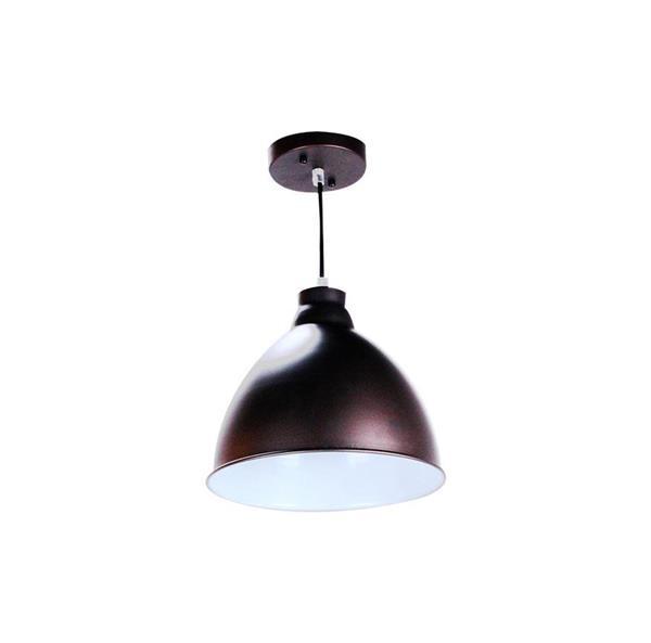 Lámpara Colgante 1L negra