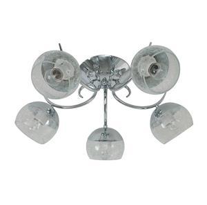 Lámpara de Techo 5L cromo flush