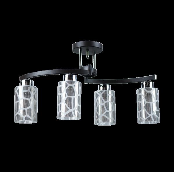 Lámpara de Techo Semi flush 4L