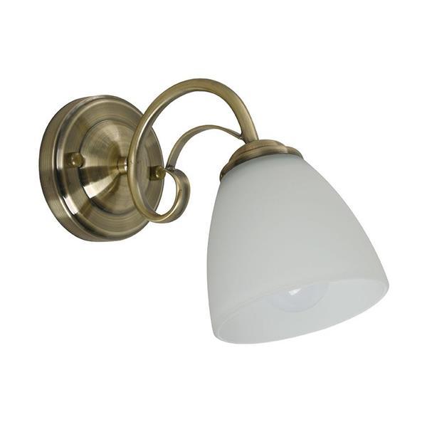 Lámpara Aplique de pared 1L bronce