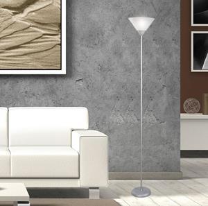Lámpara de Piso 1L blanca