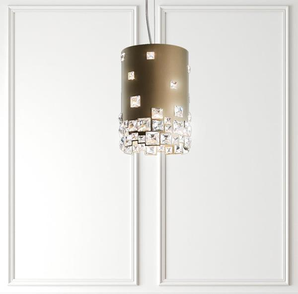 Lámpara Colgante Mosaix 4L Swarovski