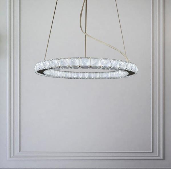 Lámpara Colgante LED Circle Swarovski