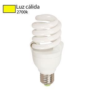 Foco LED Espiral 2700k luz cálida