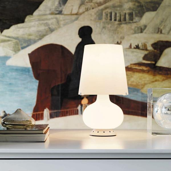 Lámpara de Mesa 1L blanca