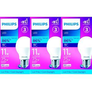 Imagen de Bombillo LED Philips 6500k (86% de ahorro)