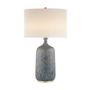 Imagen de Lámpara de Mesa Culloden 1L azul Visual Comfort