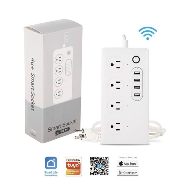 Regleta Smart con entrada USB