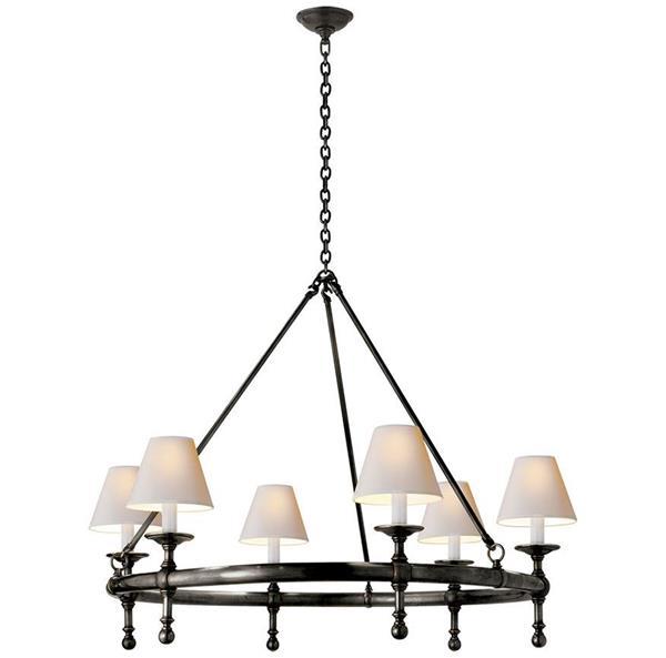 Lámpara Candelabro 6L Visual c