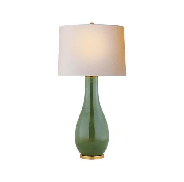 Lámpara de mesa verde 1L