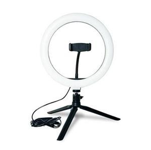 Imagen de Lámpara de Mesa LED Aro de Luz para selfies (incluye trípode)