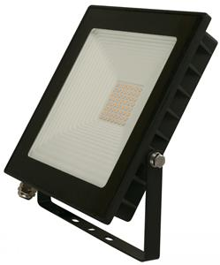 Imagen de Lámpara Reflectora Ext. LED 3000k negro 50w