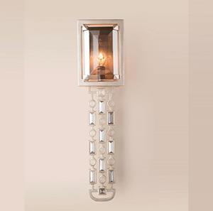 Lámpara Aplique de Pared 1L silver