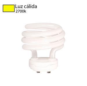 Imagen de Bombillo CFL Espiral GU15 2700k