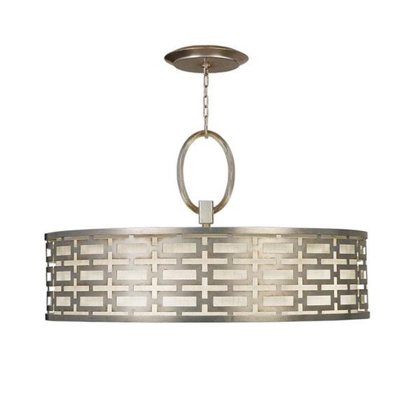Lámpara Colgante 5L Silver FineArt