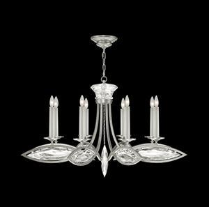 Imagen de Lámpara Round Chandelier Marquise 8L silver Fine Art