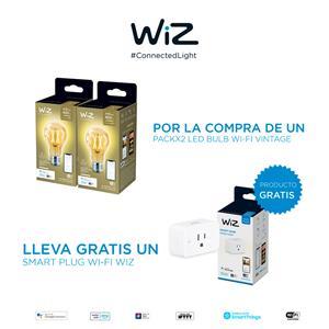 Imagen de Combo 2pack Bombillos A19 Ambar + Smart Plug WiFi Wiz