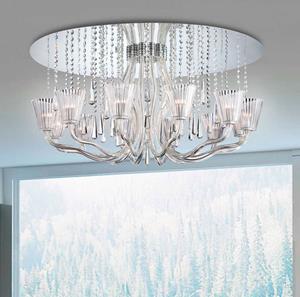 Imagen de Lámpara Ceiling Mount Corato 12L chrome Eurofase