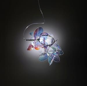 Lámpara Supensión 1L iridiscent