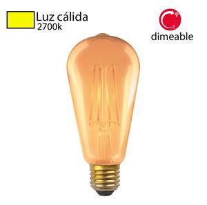 Imagen de Bombillo LED Vintage ST64 2700k dimeable Abolu
