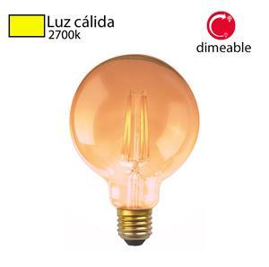 Imagen de Bombillo LED Vintage G95 2700k dimeable Abolu