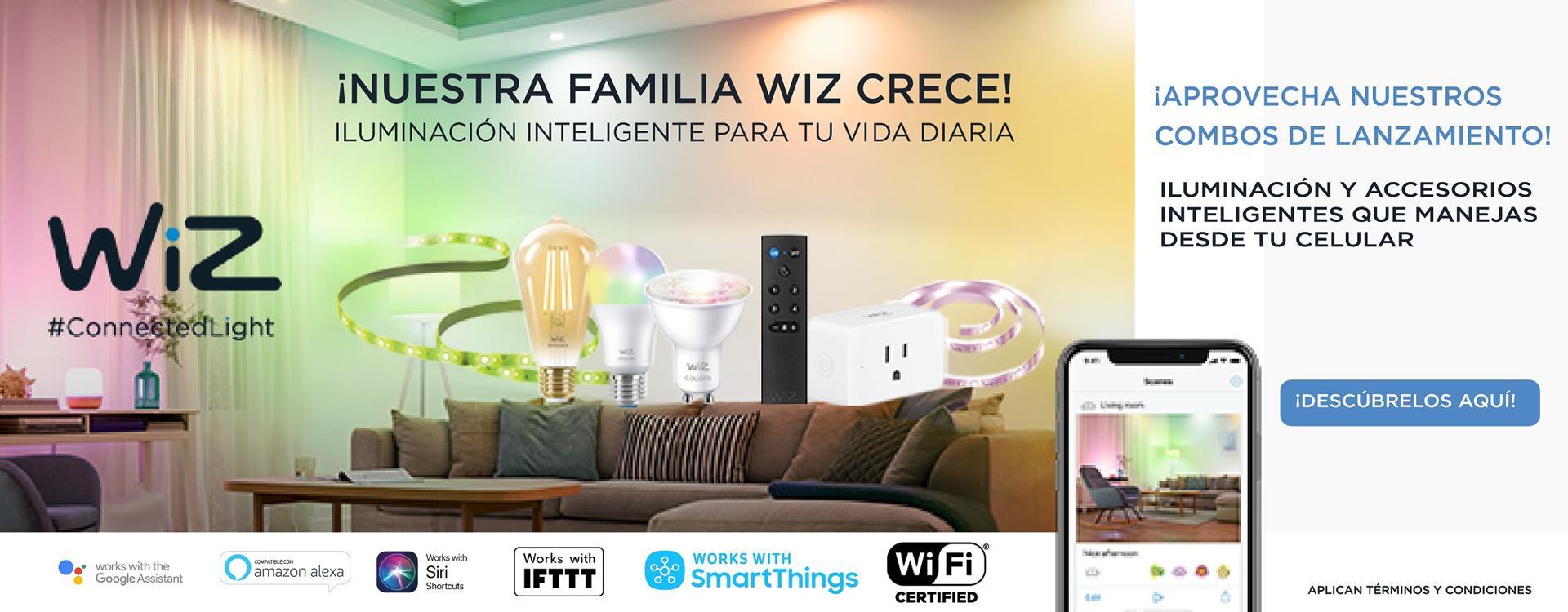 Campaña Wiz Combos Smart / Iluminación Inteligente