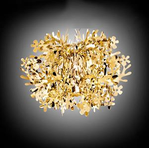Imagen de Lámpara Aplique de Pared Fiorella gold Slamp