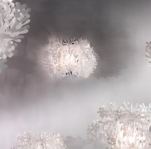 Lámpara Aplique Wall blanca Slamp