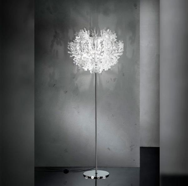 Lámpara Floor Lamp White Slamp 1L