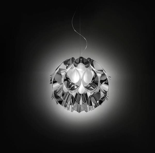 Lámpara Suspension 2LED Silver Sl