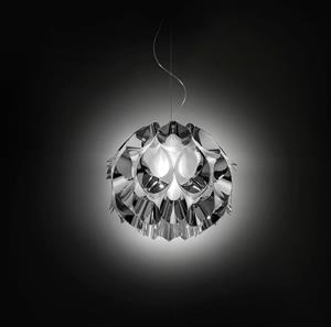 Lámpara Suspension Medium 3L plata