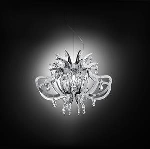 Imagen de Lámpara de Suspensión Lillibet silver Slamp
