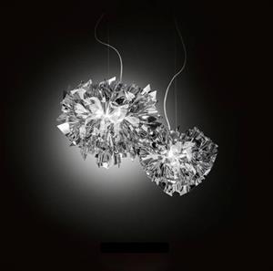 Lámpara Suspensión L 4L silver