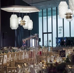 Lámpara Suspensión LED blanco Small