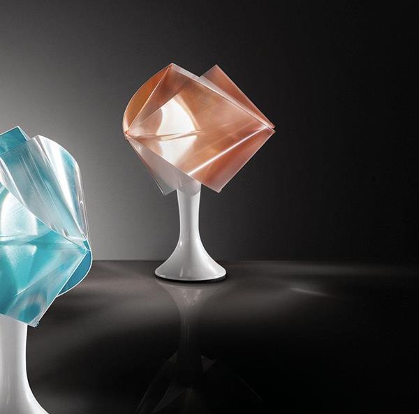 Lámpara de Mesa 1L Gemmy ambar