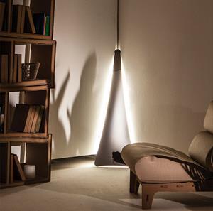 Imagen de Lámpara de Pie LED Punctum Slamp espejo