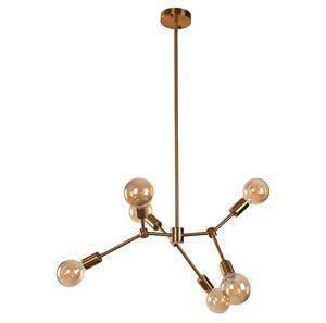 Imagen de Lámpara de Techo Dreamstime 6L bronce dorado