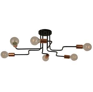 Imagen de Lámpara de Techo Artifice 6L Arteluce black