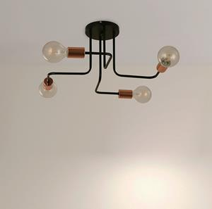 Imagen de Lámpara de Techo Artifice 4L Arteluce black