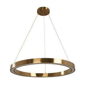 Imagen de Lámpara Colgante LED Anillo 30w dorado 3000k