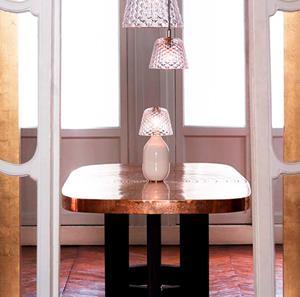 Imagen de Lámpara de Mesa Candy Light Juvisy 1L blanca Baccarat