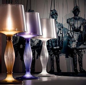 Lámpara de Mesa 1L purple slamp