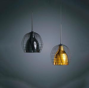 Lámpara de Suspensión Negra 1L foscarini