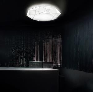 Imagen de Lámpara de Techo Diamond PP 80 blanca Morosini