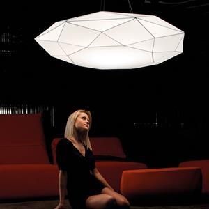 Imagen de Lámpara de Techo Diamond PP 120 blanca Morosini