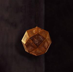 Imagen de Lámpara Colgante LUMBRERA 1L dorado