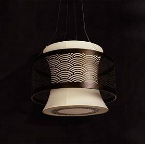Lámpara de Techo 5L Arteluce black