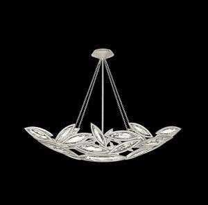 Imagen de Lámpara Colgante Marquise silver with Smooth Crystal Fine Art